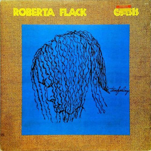 roberta flack lp 1989 oasis + encarte 15907