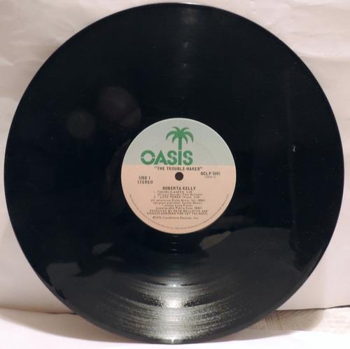 roberta kelly trouble maker vinilo, oasis records 1976 usa