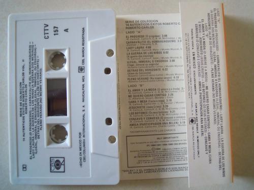 roberto carlos casette 14 autenticos extitos vol. 2