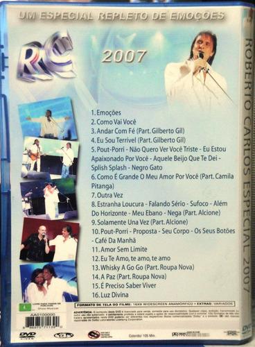roberto carlos especial 2007