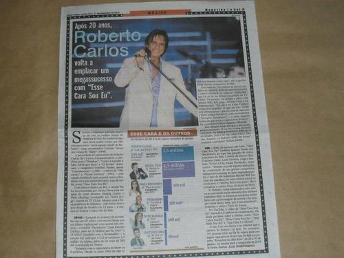 roberto carlos - material de revistas para colecionadores 09