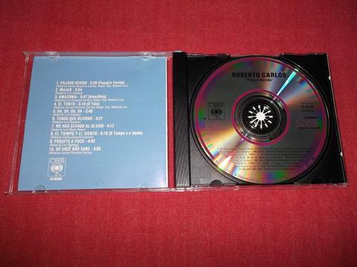 roberto carlos - pajaro herido cd imp ed 1990 mdisk