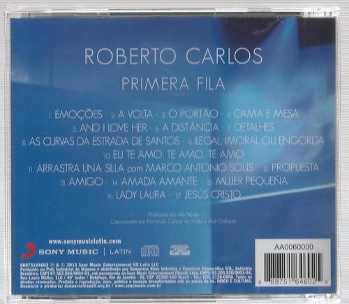 roberto carlos-primeira fila (lanc.out.2015)