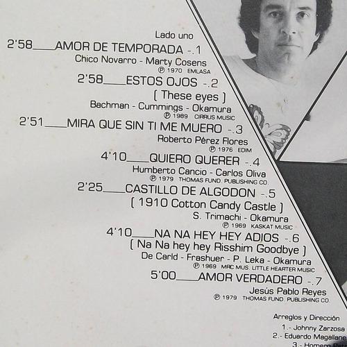 roberto jordan. 15 grandes 15. disco l.p. rca 1984