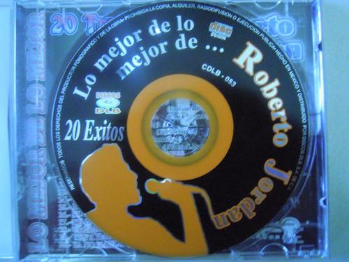 roberto jordan cd 20 temas los mejores exitos de