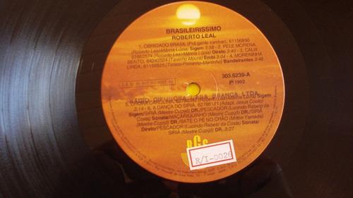 roberto leal-lp-vinil-brasileirissimo-musica portuguesa