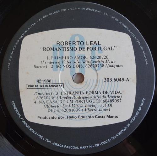 roberto leal - romantismo de portugal