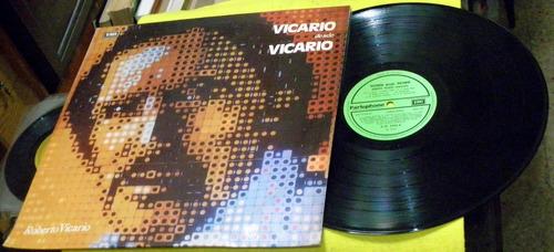 roberto vicario desde vicario disco lp vinilo