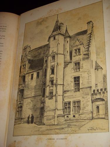 robida.la vieille france.normandía.litografias originales