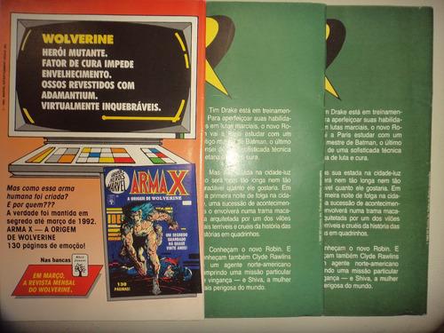 robin 1 2 3 completa editora abril 1992 otimas