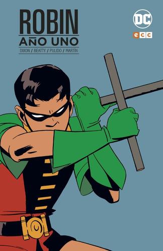 robin año uno batman - dc ecc comics - robot negro