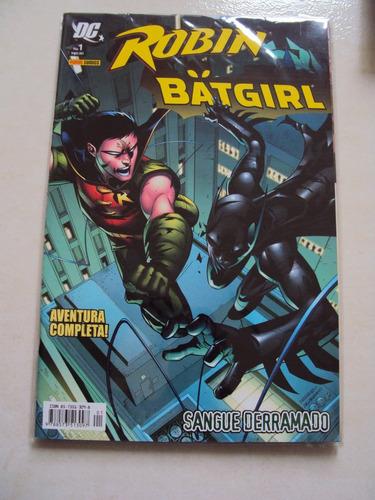 robin & batgirl # 01 - sangue derramado - aventura completa