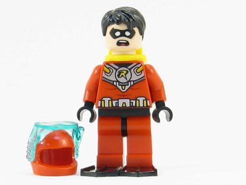 robin batman série classica compatível lego roupa aquatica