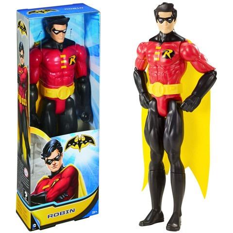 robin batman super amigos dc muñeco 30cm - fair play toys
