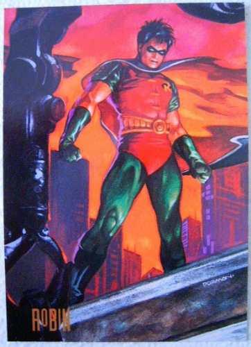 robin / dc comics pepsi cards 29 / tarjetas