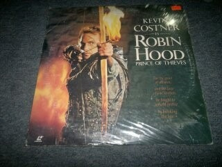 robin hood prince of thieves pelicula en formato laser disc