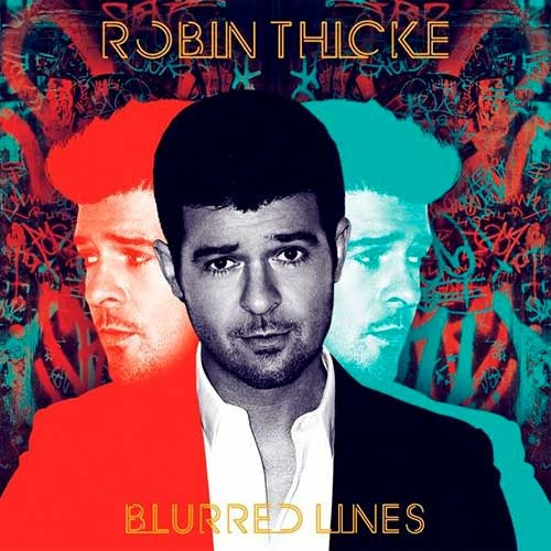 robin thicke blurred lines cd disco con 12 canciones