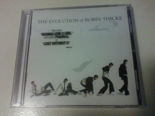robin thicke - the evolution of [cd] lil wayne/pharrell