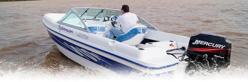 robinson mantra 5,3 m con yamaha  60 hp 4 tiempos ecologico