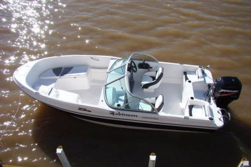 robinson mantra con mercury  40 hp 2 t electrico oportunidad