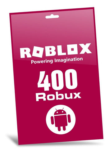 roblox 400 robux android playstore game card entrega digital