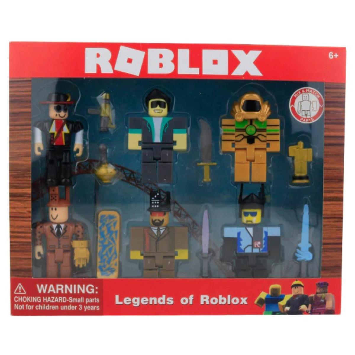 Roblox 6 Figuras Armables Accesorio Envio Gratis 585 00 En