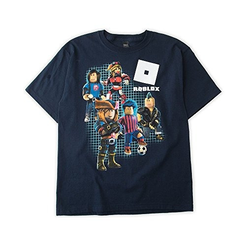 roblox boy's shot sleeve graphic t-shirt