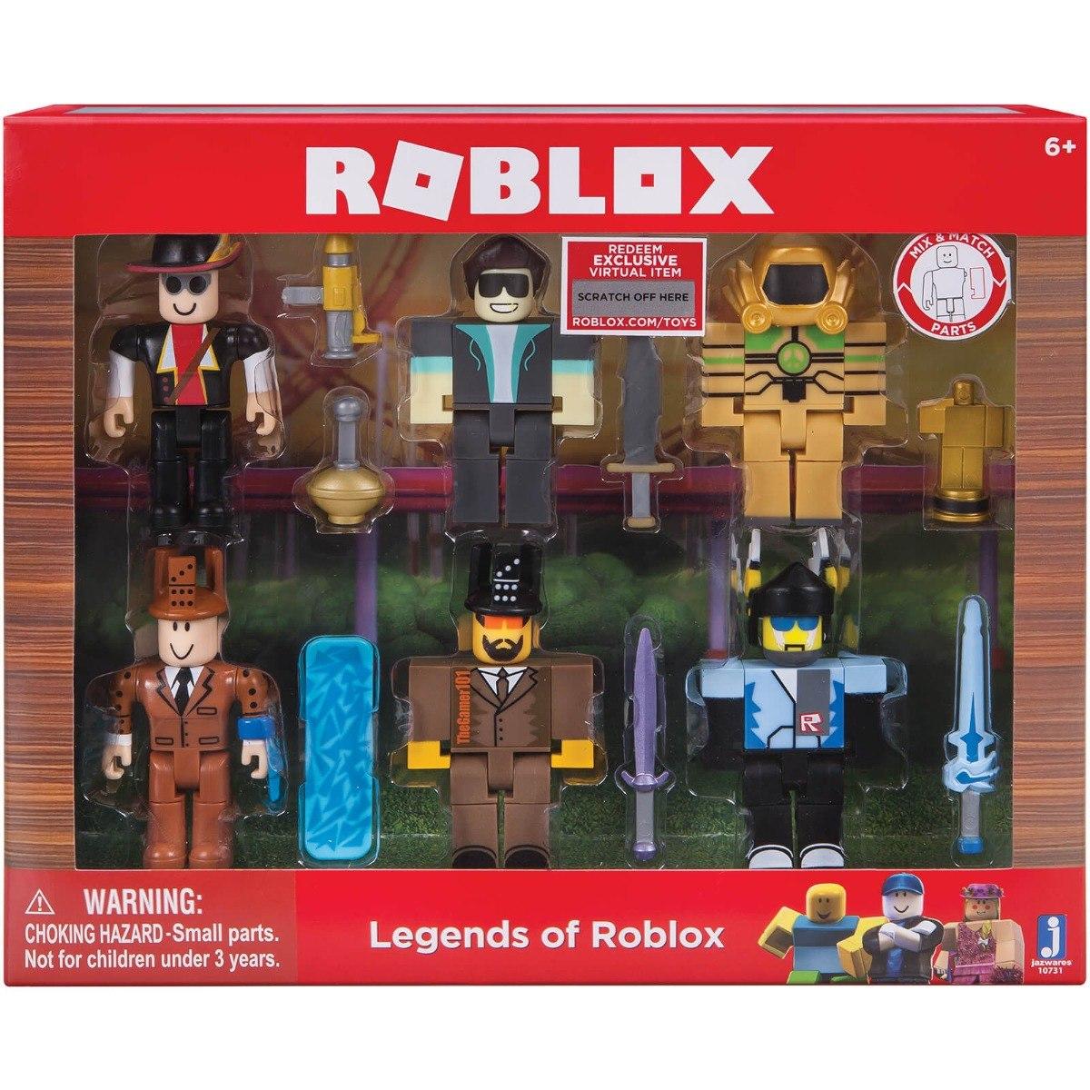 figuras de roblox en mercado libre uruguay Roblox Figura Legends Of Roblox Pack Xuruguay 1 298 00 En Mercado Libre