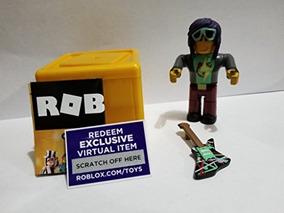Roblox Gold Celebrity Series Rockstar Action Figura Caja
