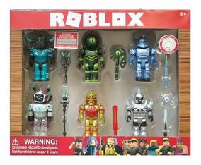 En Caja 6 Personajes Accesorios Juego Y Roblox k0wPnO