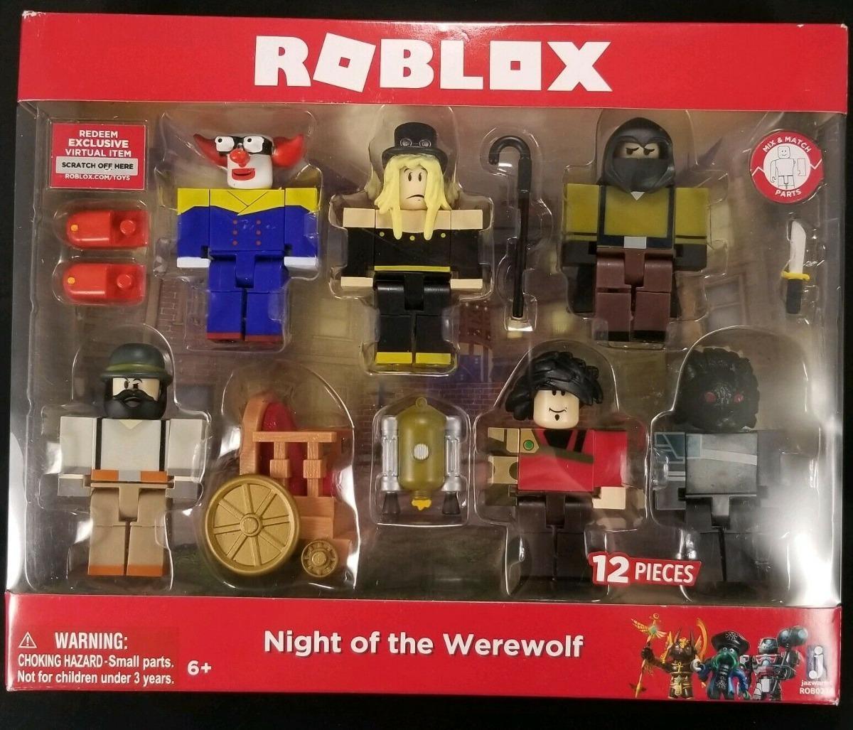 Roblox Night Of The Werewolf Six Figure Pack - roblox night of the werewolf pack