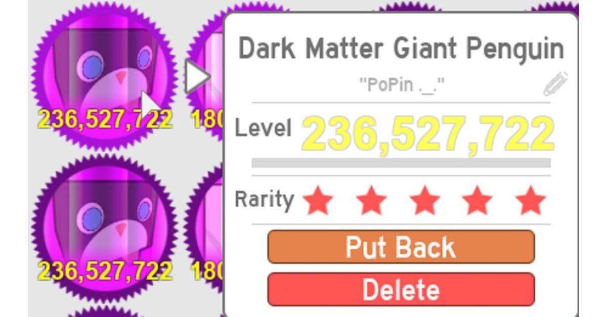 Dark Matter Roblox - Roblox Pet Simulator Dark Matter Dominus Huges Robux 400 00 En
