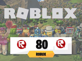 Roblox Robux 80 Celular, Pc, Ps4, Xbox One Con Garantia