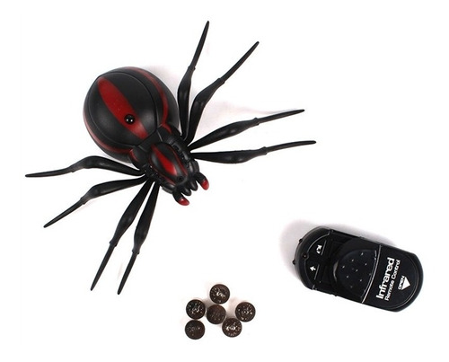 robo controle remoto aranha spider ghost brinquedo infantil