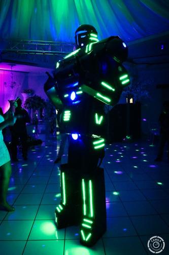 robo de led para festas, eventos, casamento e baladas