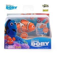 robo fish buscando a dory nemo marlin dory pez robot intek