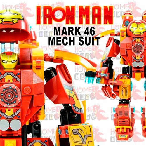 robo iron man homem de ferro mk46 compat. lego frete gratis