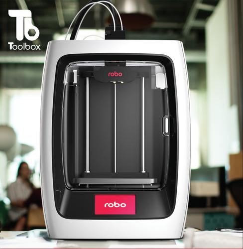 robo3d r2 - impresora 3d inteligente//toolbox3d