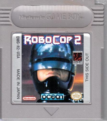 robocop 2 video juego de game boy