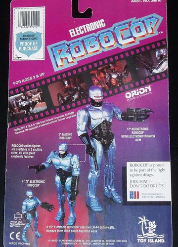 robocop 3 orion con sonido (figura retro original sin abrir)