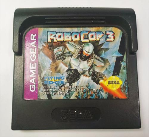 robocop 3 sega game gear cartucho retromex tcvg
