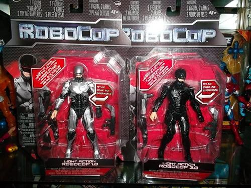 robocop 3.0 traje negro con luz articulado jada toys
