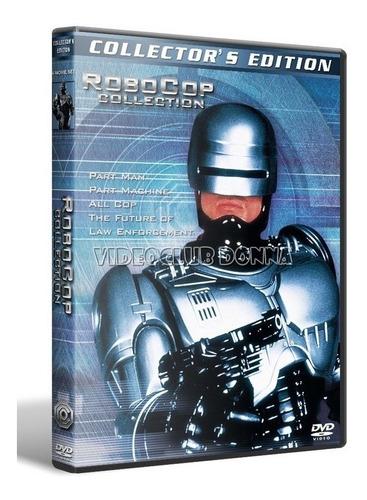 robocop saga completa 4 dvd pack colección peliculas