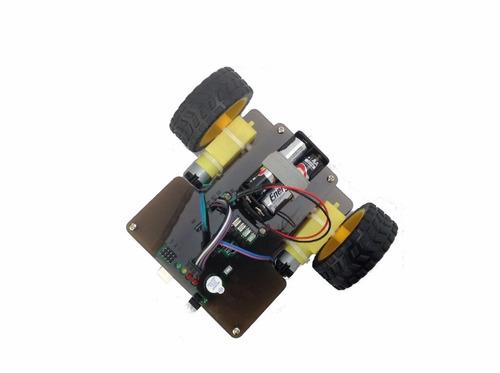 roboshield, robot educativo, arduino, líneas, obstaculos