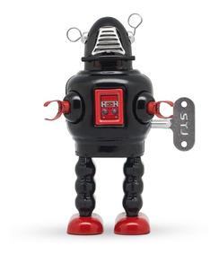 Toy Planet Gato Cuerda A De Retro Robot Tin Hojalata zMpUGqSV