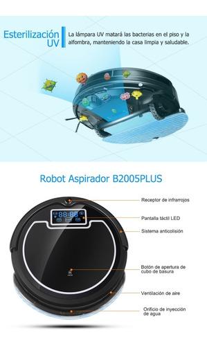 robot aspiradora liectroux b2005plus con tanque de agua