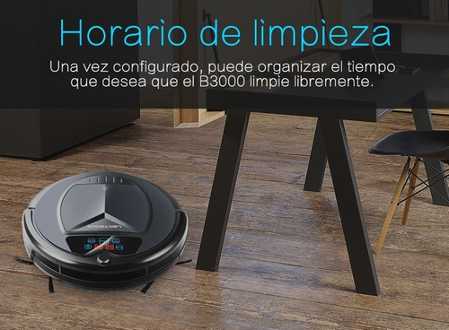 robot aspiradora liectroux b3000 inteligente apto p/alfombra