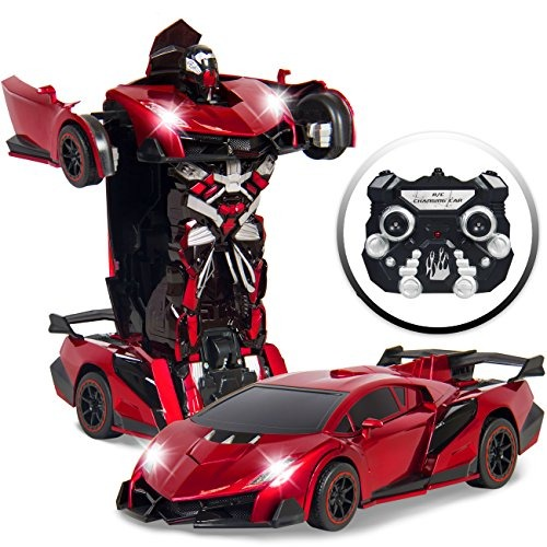 Robot Carro Transformer A Control Remoto De Juguete Para 305 550