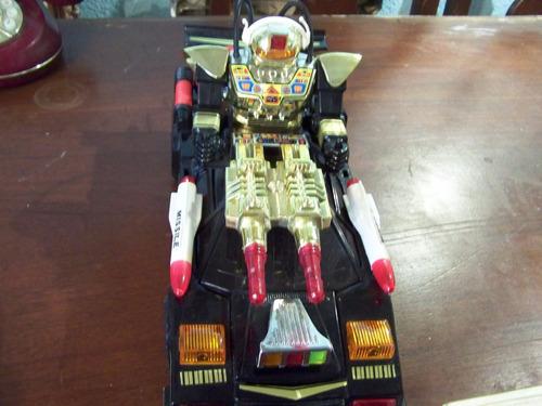 robot cosmic raider force (solo prenden las luces delanteras
