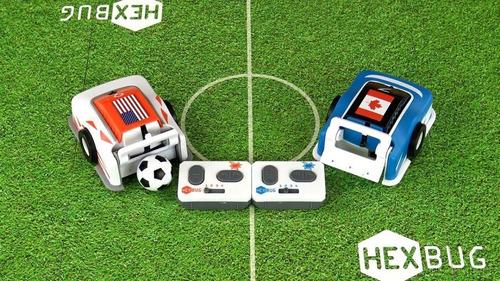 robot de fútbol hexbug: carro individual personalizable!